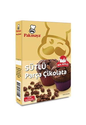 Pakmaya Milk Chocolate Chunks